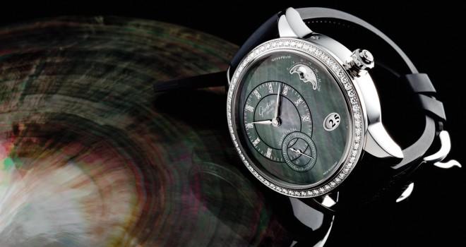 68ad0dc1fcc0 Damenuhr mit Mondphase: Die Glashütte PanoMatic Lunar